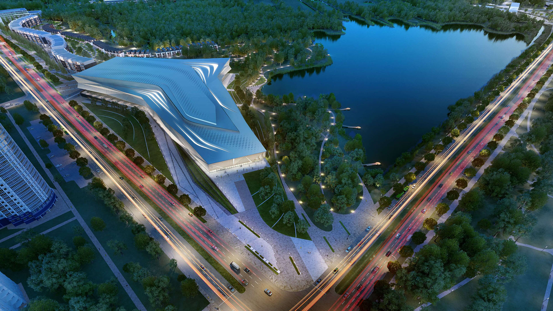 LEBYAZHY MIXED USE COMPLEX <br/> New ice Hockey Arena