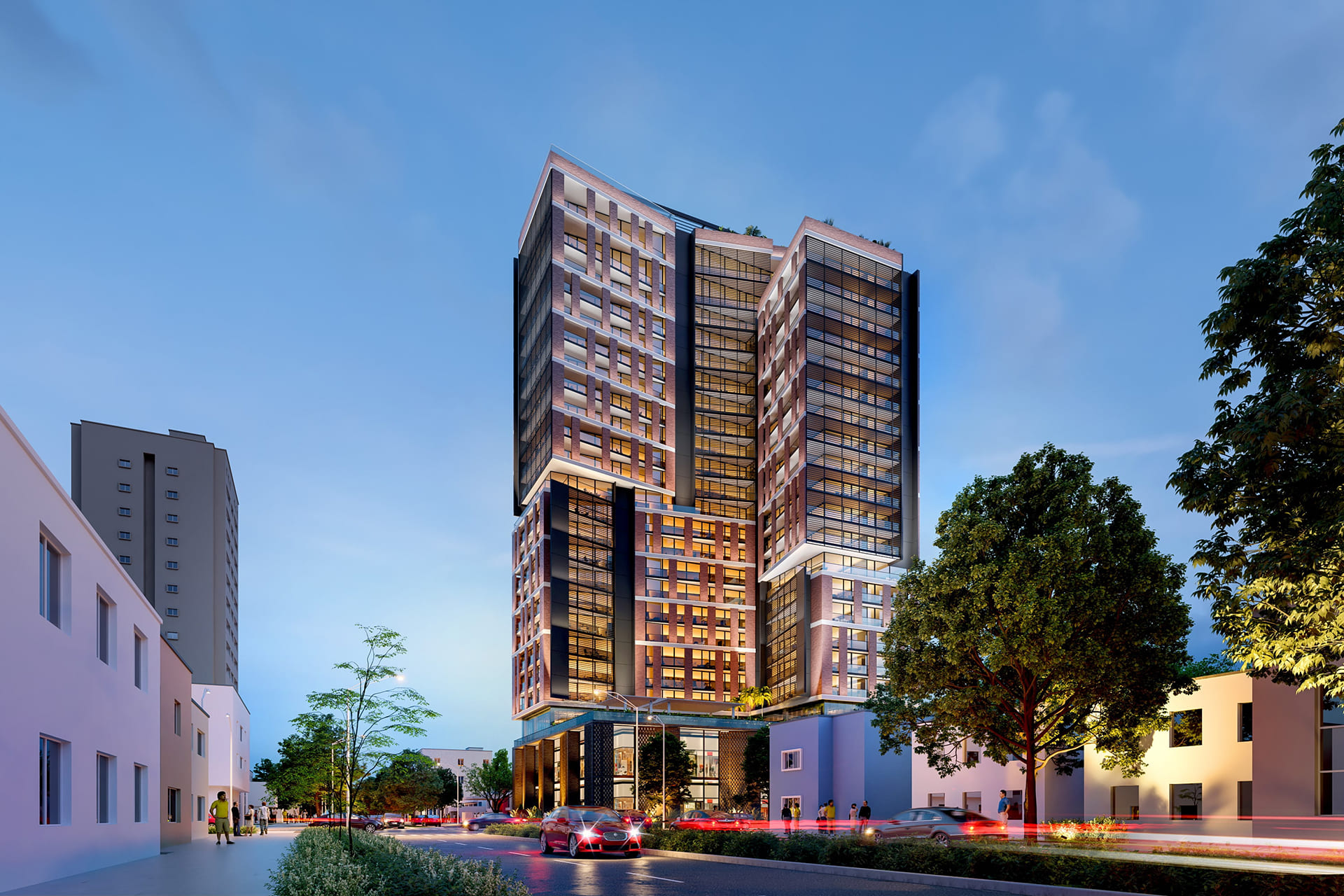 HIDALGO RESIDENCES <br/> New project of a wonderful vertical splendor