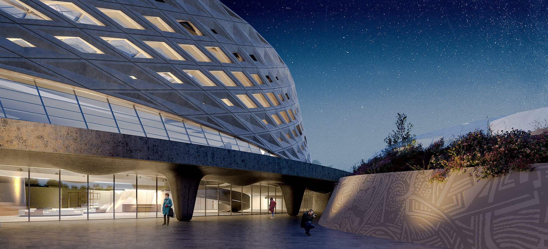 NATIONAL HISTORICAL MUSEUM <br/> New building designed by Varabyeu Partners