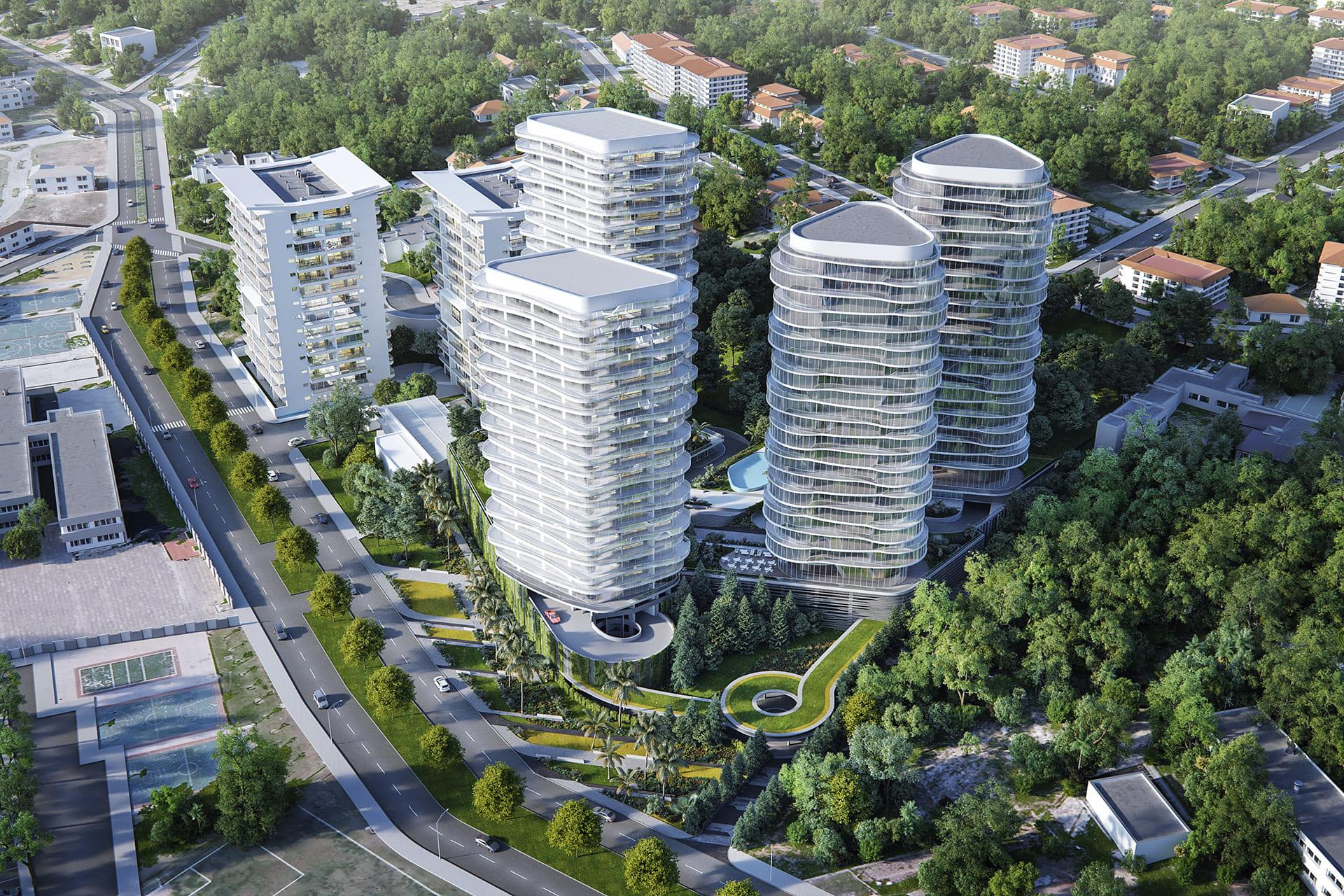 PARQUE SAN JAVIER <br/> Modern residental development