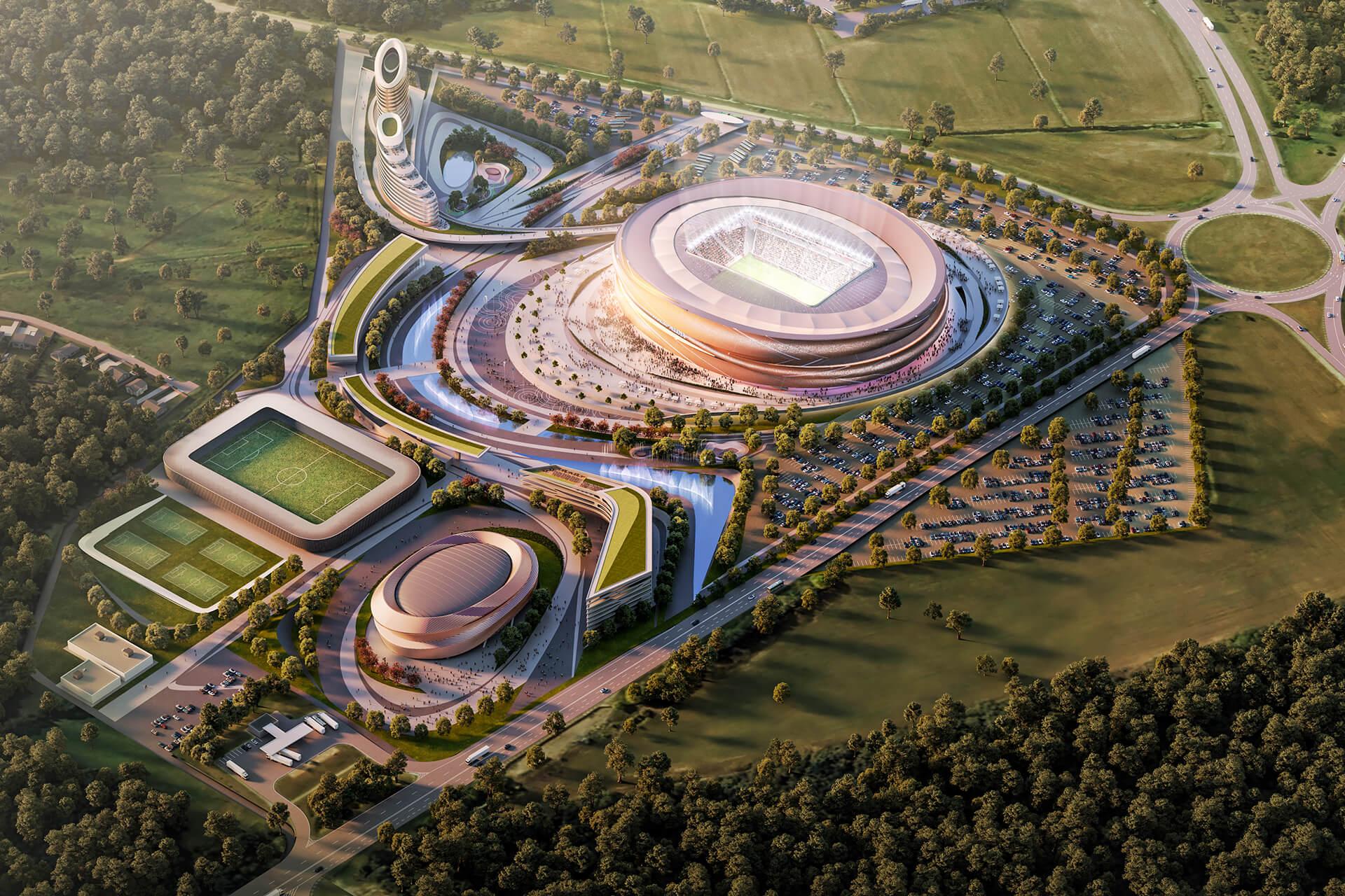 BREST DYNAMO <br/> New football stadium