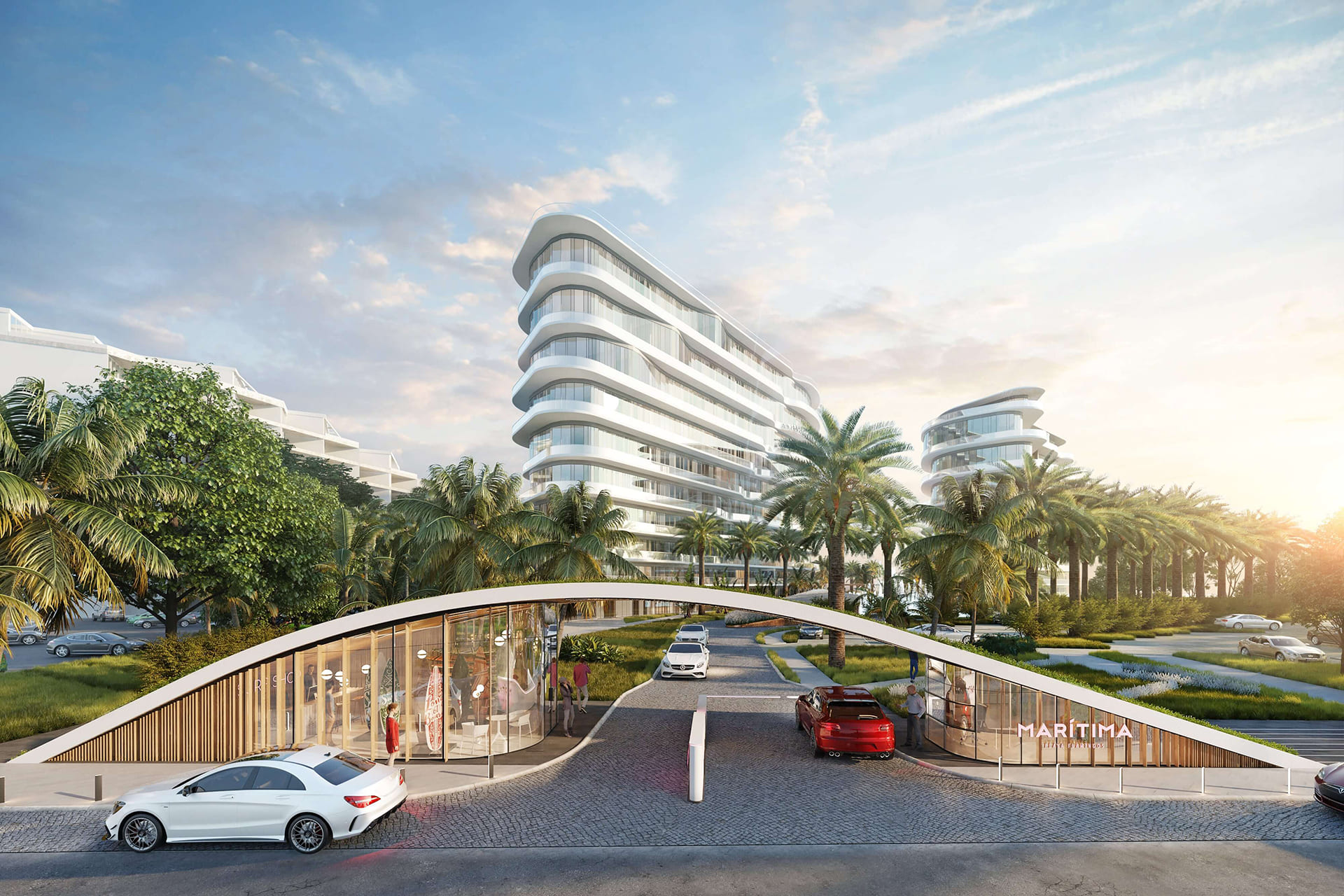MARITIMA <br/> Exclusive residences on the picturesque coast