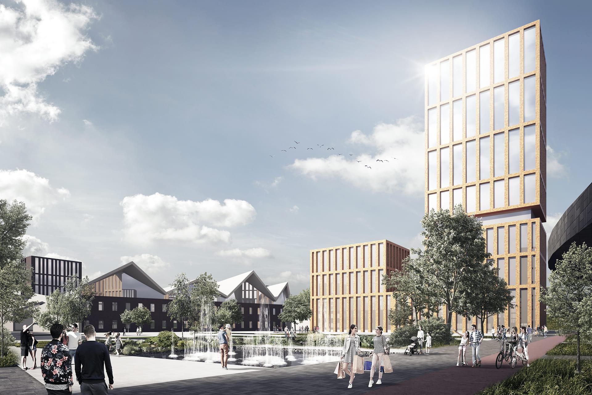 BREST LIVING DISTRICT <br/> Urban planning design competition
