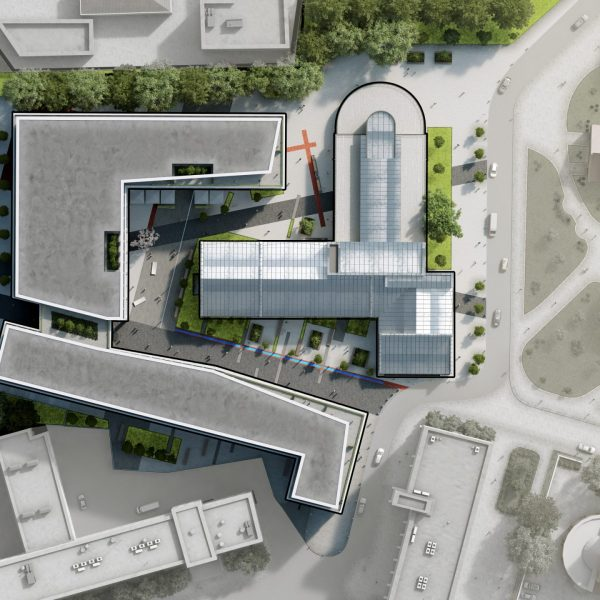 Minsk Office Mixed Use Complex_SitePlan