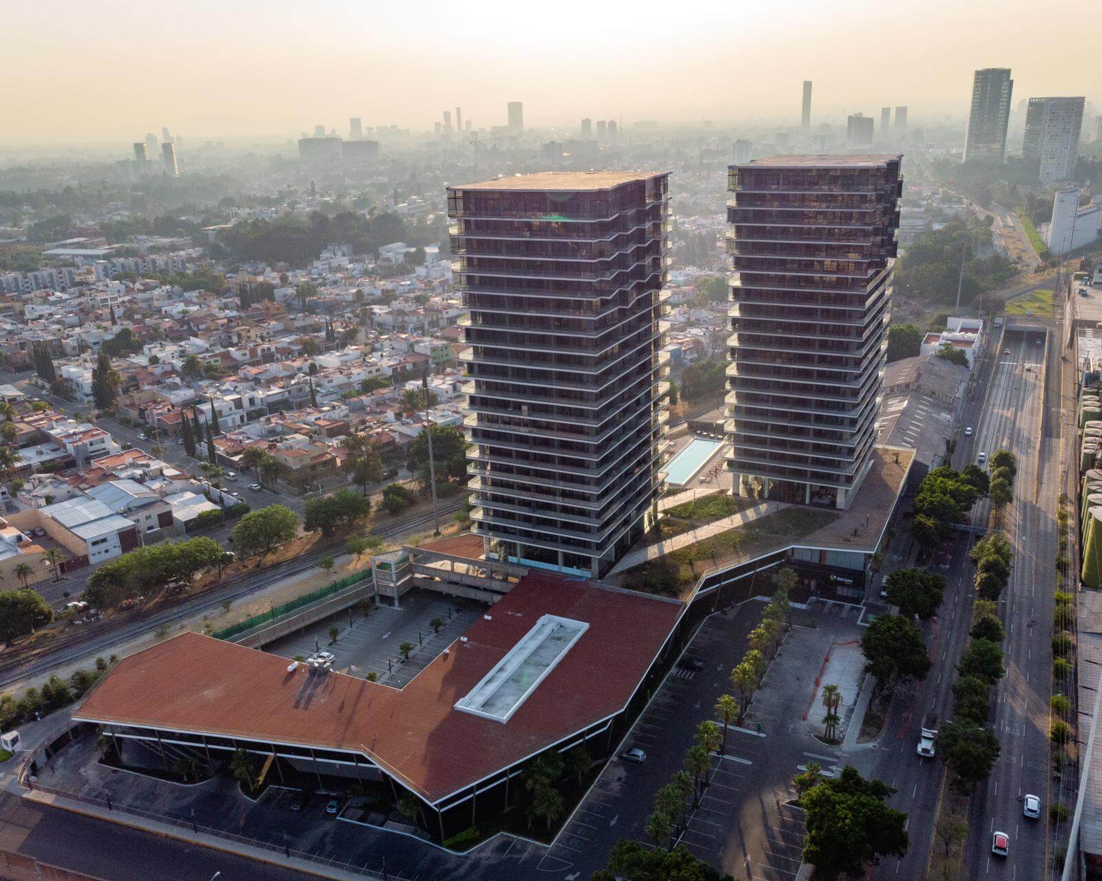 URBANIA <br> Mixed use residential development